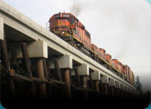 Railroad Engineering – Condition assessments, rehabilitation and replacement engineering services
