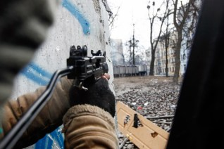 Unknown snipers shoot at police, protestors and bystanders