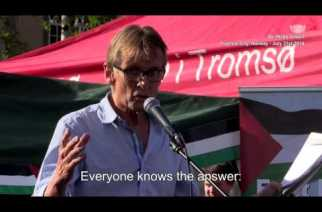 Surgeon Mads Gilbert Gives a Powerful Speech about Gaza after Returning Home to Norway