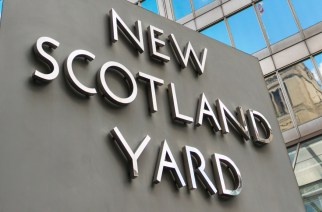 UK, England, London, New Scotland Yard building