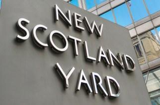 UK, England, London, New Scotland Yard building