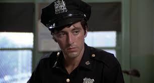 Al Pacino as frank Serpico in the 1973 film, Serpico.