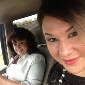 Mom riding shot gun with me. I hope I inspire her as she has me.
