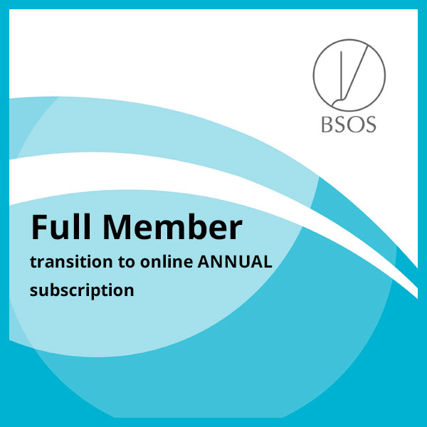 BSOS full annual member