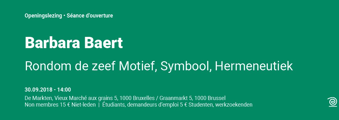 30 septembre : Barbara Baert – Rondom de zeef – Motief, Symbool, Hermeneutiek (Autour du tamis – Motif, Symbole, Herméneutique)