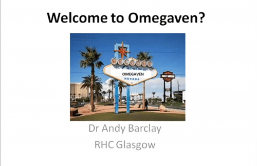 Welcome to Omegaven? – Andrew Barclay