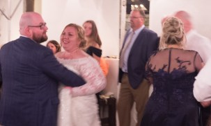 It's cute to see 2 of the cutest couples in the world dancing next to each other.