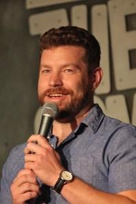 Jonas Schrodt, performer. June 19, 2019 Bloomington Comedy Festival at Comedy Attic (Dave Askins/Beacon)