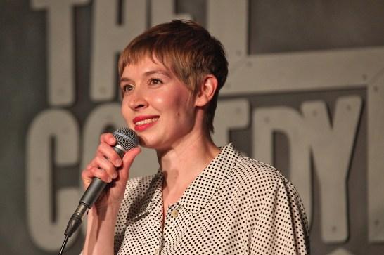 Natalie Bainter, performer. June 19, 2019 Bloomington Comedy Festival at Comedy Attic (Dave Askins/Beacon)
