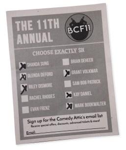 Cropped ballot Week 3 Comedy IMG_6789