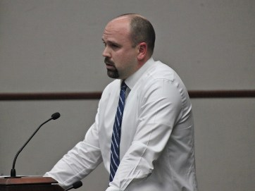 Jeff Rodgers, who represents the detective division in the collective bargaining process has put in 13 years with the department. (Dave Askins/Beacon)