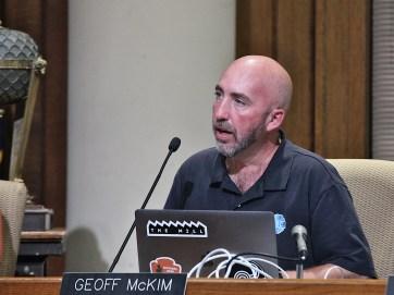 Councilor Geoff McKim