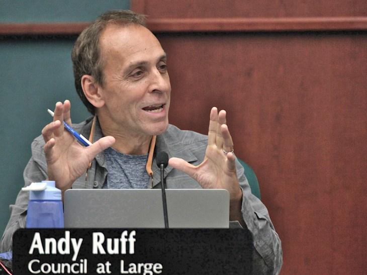Bloomington councilmember Andy Ruff 2019 (Dave Askins/Beacon)