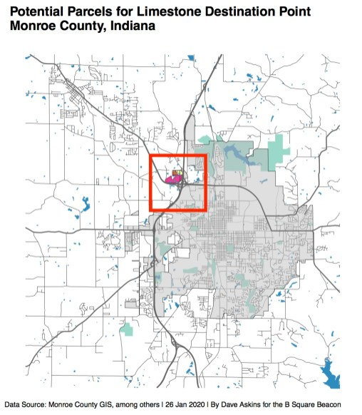 Annoted Low Res R Map Quarry Property County Council Three Separate ParcelsMonroe County Councilxxxx