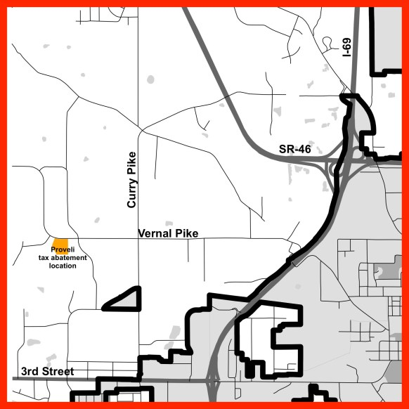 labeled inset R Map Locator Proveli Tax abatementYYYxxxx