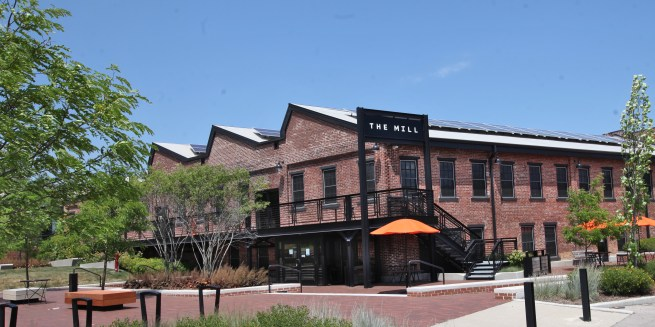 The Mill, a co-working space in Bloomington, Indiana.