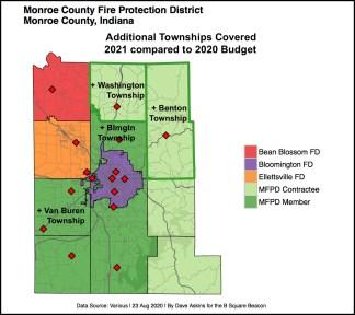bordered New R Map Fire Districts Benton Round Aug 23 report Consolidation Proposals, Benton, Washington Twpsxxxx