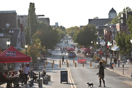 Kirkwood Avenue Sept. 26, 2020.