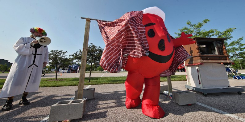 """Kool-Aid Man was part of the entry for """"Beanpole: The God of Pointless Behavior"""" (July 3, 2021)."""