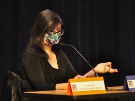 Elizabeth Lopez, case worker with Bloomington Township.