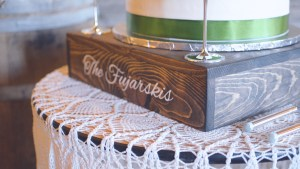 Rustic Grace Estate Cake, Wedding Videographer