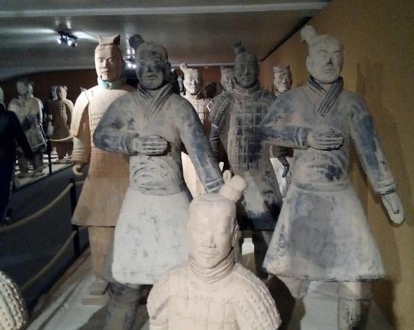 Besuch der 3.A bei der Terrakotta-Armee in Lüttich