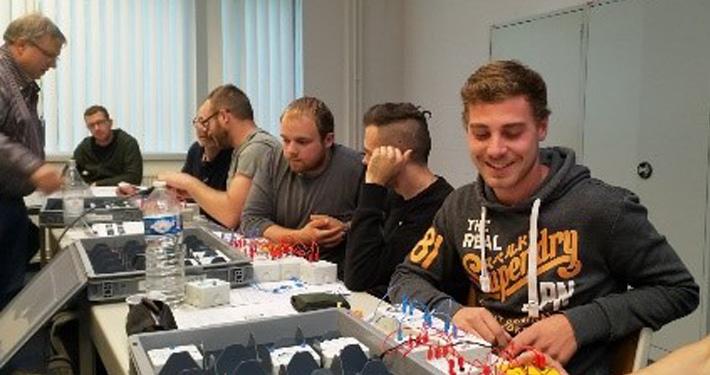 La 7e FB en formation à Liège