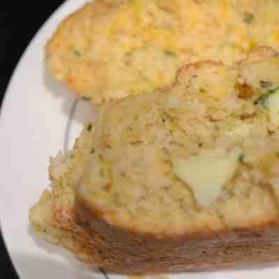 Cheesdar &Chive Buttermilk Biscuits