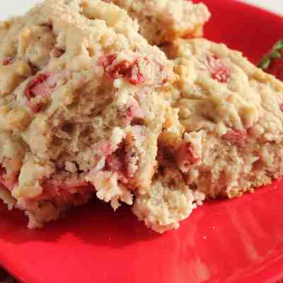 Homemade Strawberry Biscuits w/Homemade Strawberry Butter