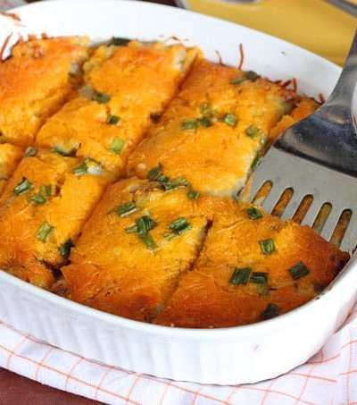 Loaded Baked Potato Breakfast Casserole