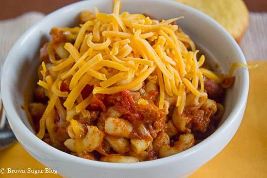 Chilli Mac Recipe Revised