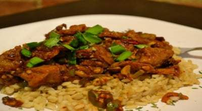 Honey Chipotle Seitan- Spicy Vegetarian Dish