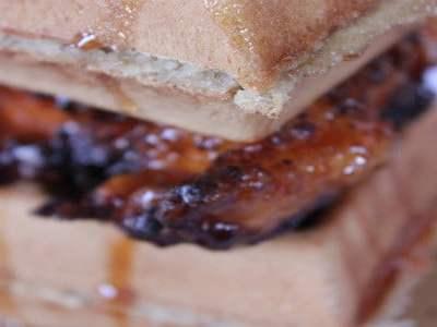 Chicken and Waffle Sandwich