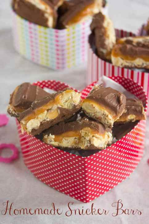 Homemade Snicker Candy