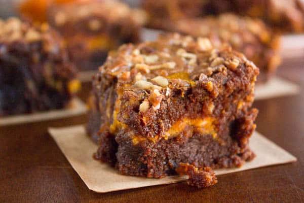 Pumpkin Nutella Brownies   Brown Sugar Food Blog
