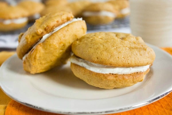 Pumpkin Sandwich Cookies