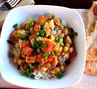 Healthy Chicken Curry