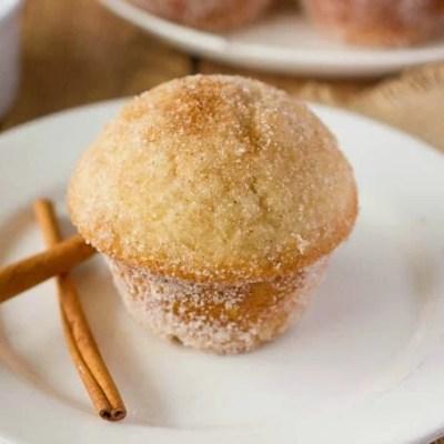 Churro Muffins Recipe