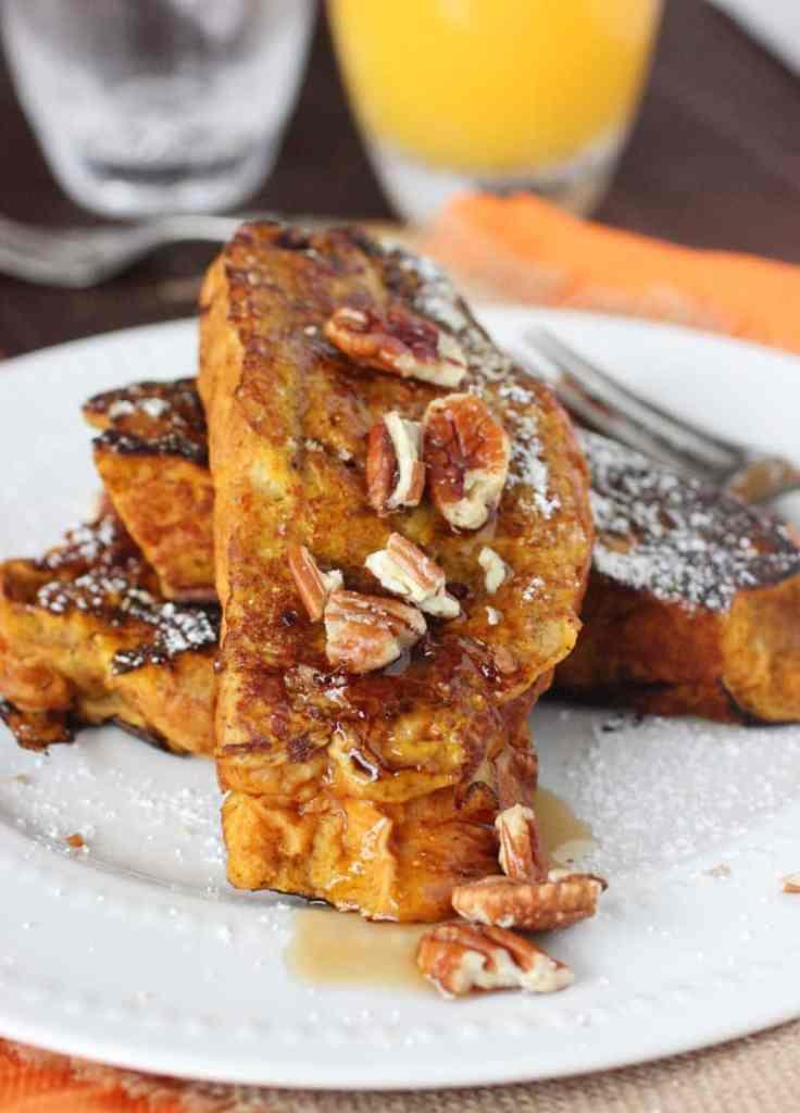 Brioche Pumpkin French Toast