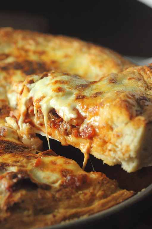 Deep Dish Meat Lovers Pizza