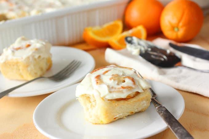 Orange Marmalade Sweet Rolls