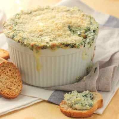 Crab and Spinach Artichoke Dip