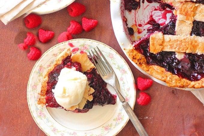 Cherry Pie Recipe with Mixed Berries