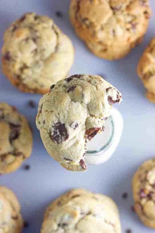 Bakery Chocolate Chip Cookies Recipe