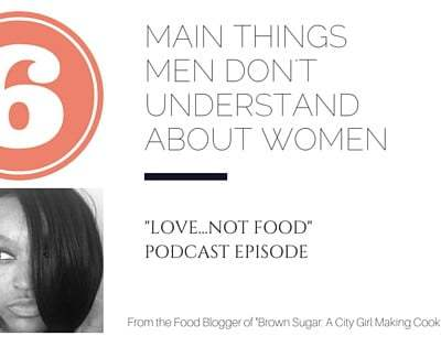 Things Men Don't Understand About Women