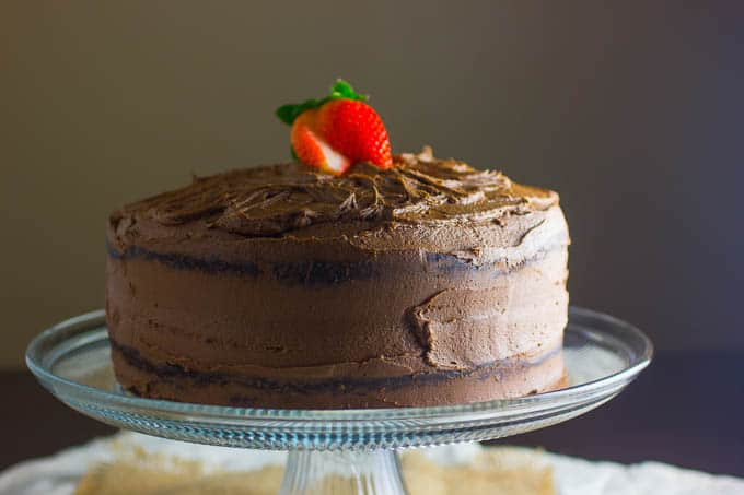 Dark Chocolate Cake Recipe & Divine Chocolate
