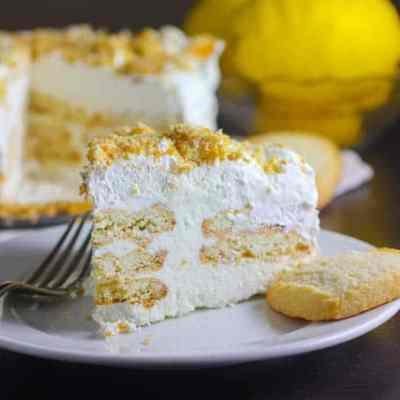 Lemon and Shortbread Icebox Cake