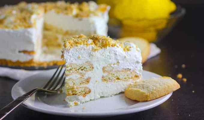 Lemon and Shortbread Icebox Cake