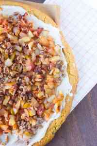 Fall Inspired Fruit Pizza