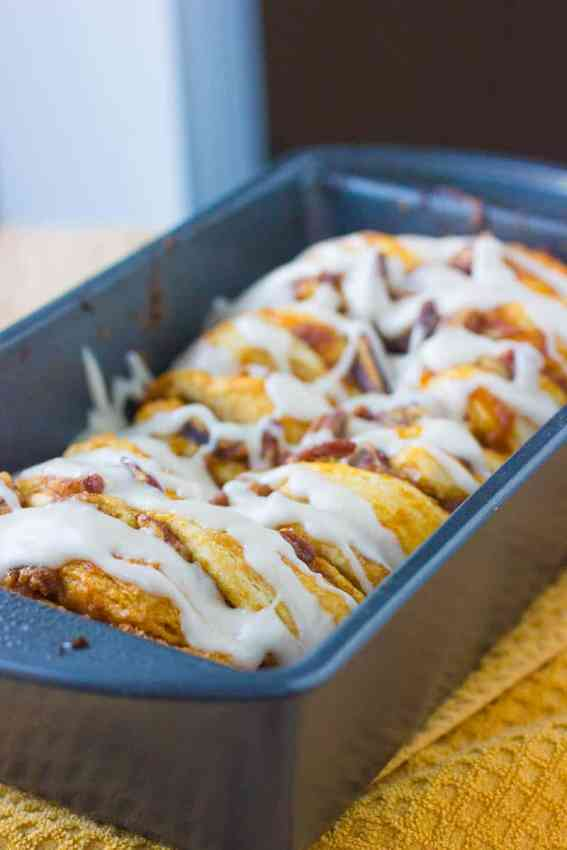 Pumpkin Pull Apart Bread Recipe